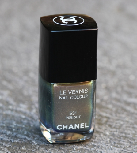 Chanel Peridot 531 By Swatchfest