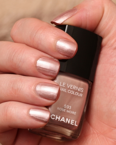 Chanel Rose Moire swatch