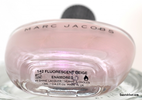 Marc Jacobs Fluorescent Beige bottle