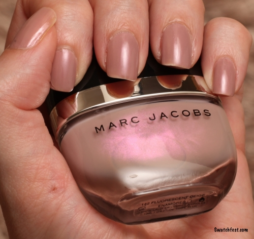 Marc Jacobs Fluorescent Beige swatch