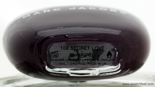 Marc Jacobs Secret Love 108 bottle
