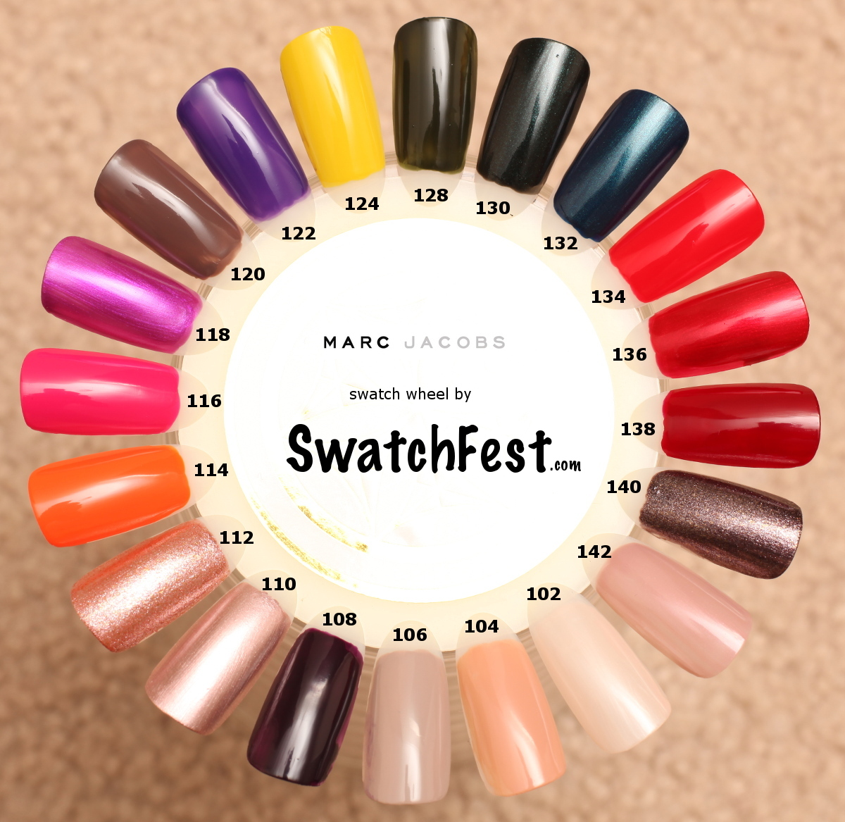 Marc Jacobs Enamored Hi-Shine Lacquer Nail Polish Formula by SwatchFest