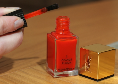 YSL Orange Fusion Brush